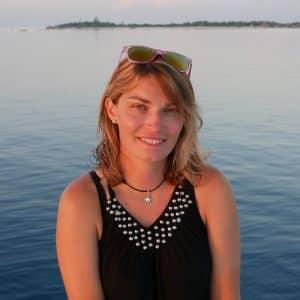 Aurore Guillon, monitrice en croisière plongée avec OK Maldives