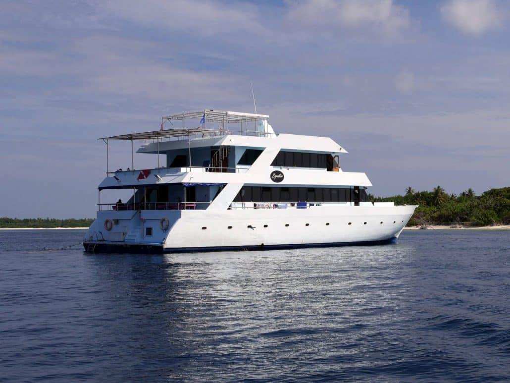 le bateau de croisière plongée OK Maldives