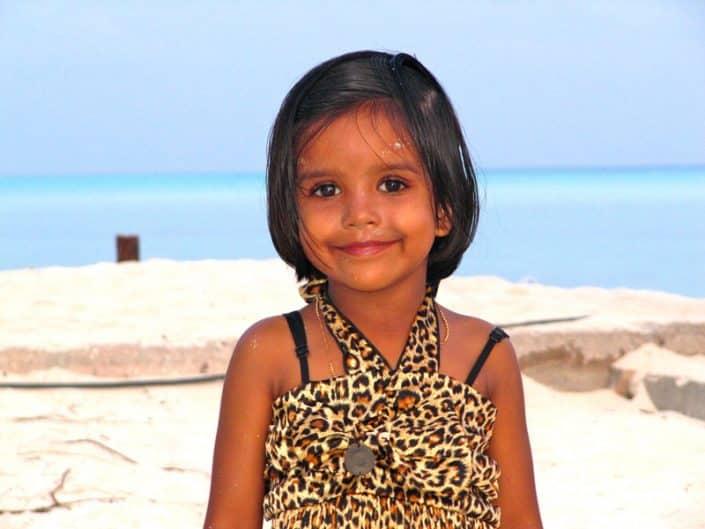 le plus beau sourire des Maldives en croisière plongée avec OK Maldives