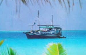 Dhoni de plongée OK Maldives